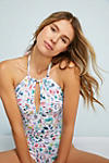 Thumbnail View 2: Seaside High-Neck One-Piece Swimsuit