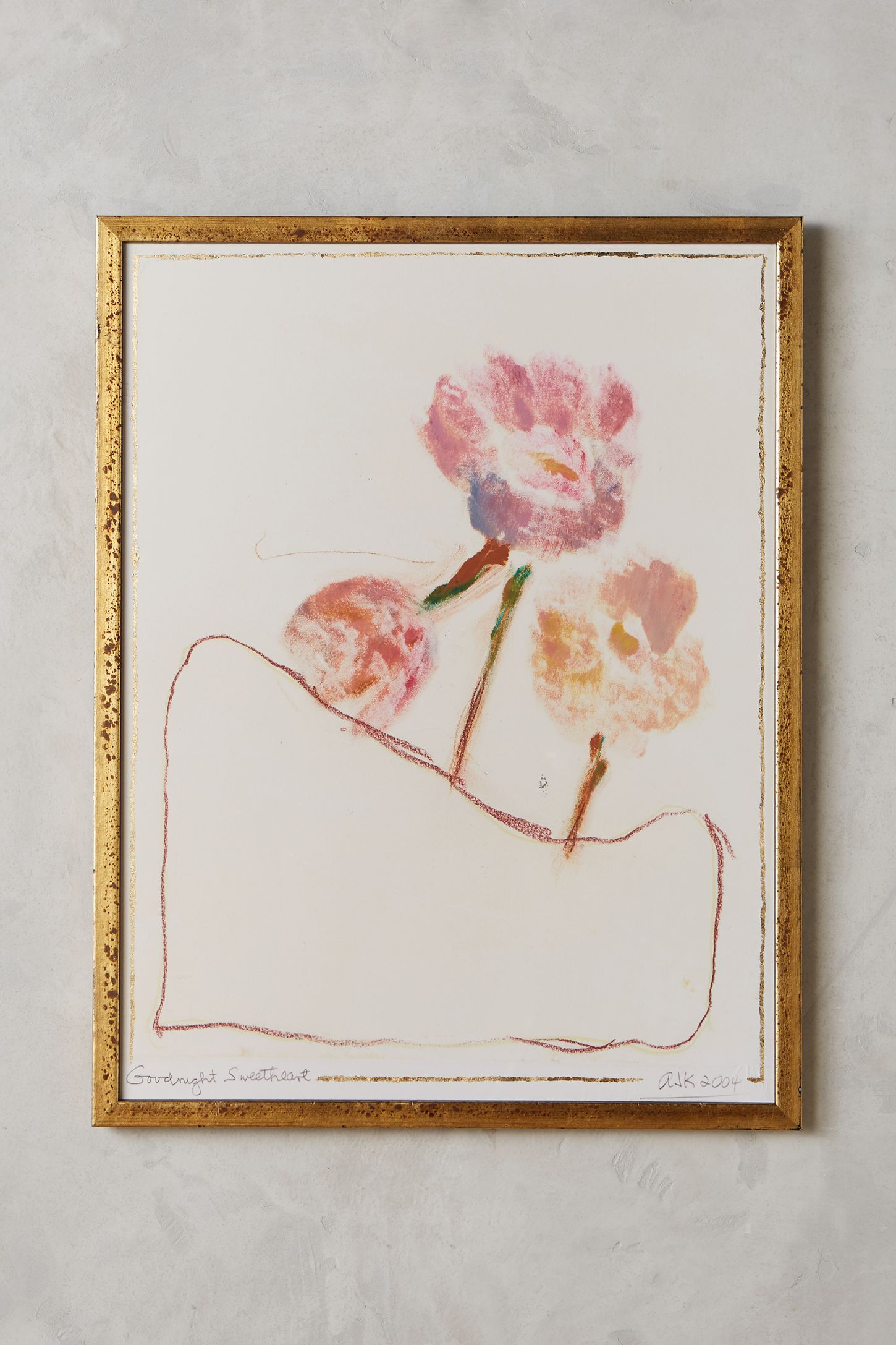 Anthropologie Wall Art goodnight sweetheart wall art | anthropologie