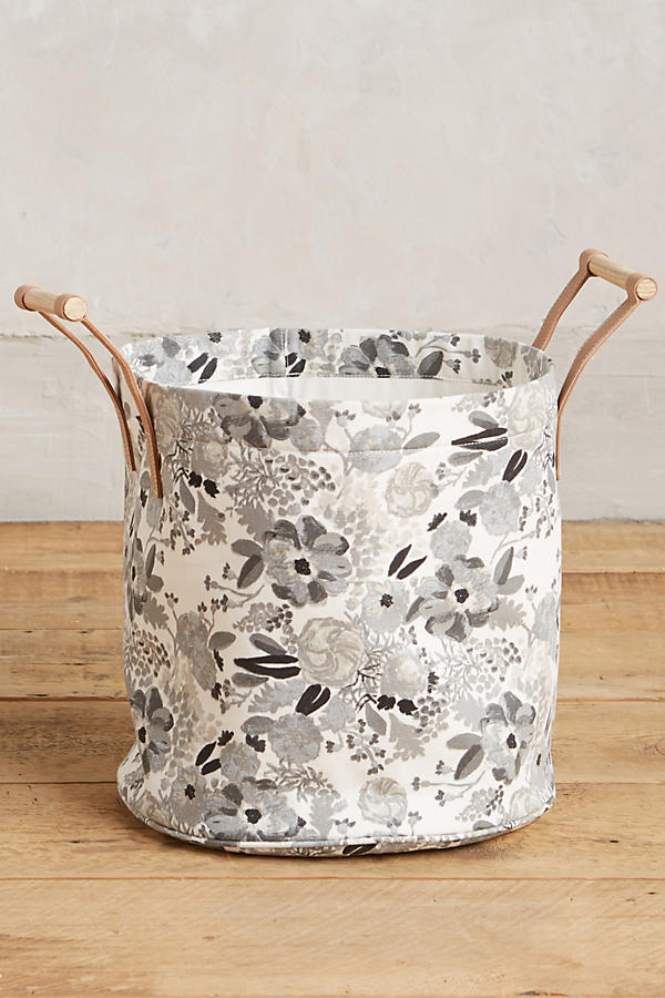 Slide View: 1: Watercolor Hamper Tote