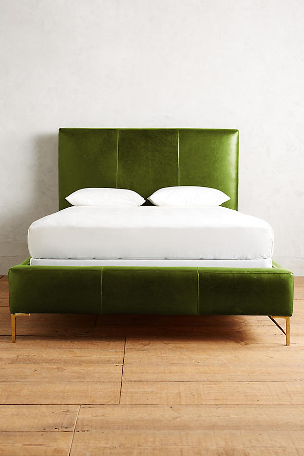 Slide View: 3: Premium Leather Edlyn Bed