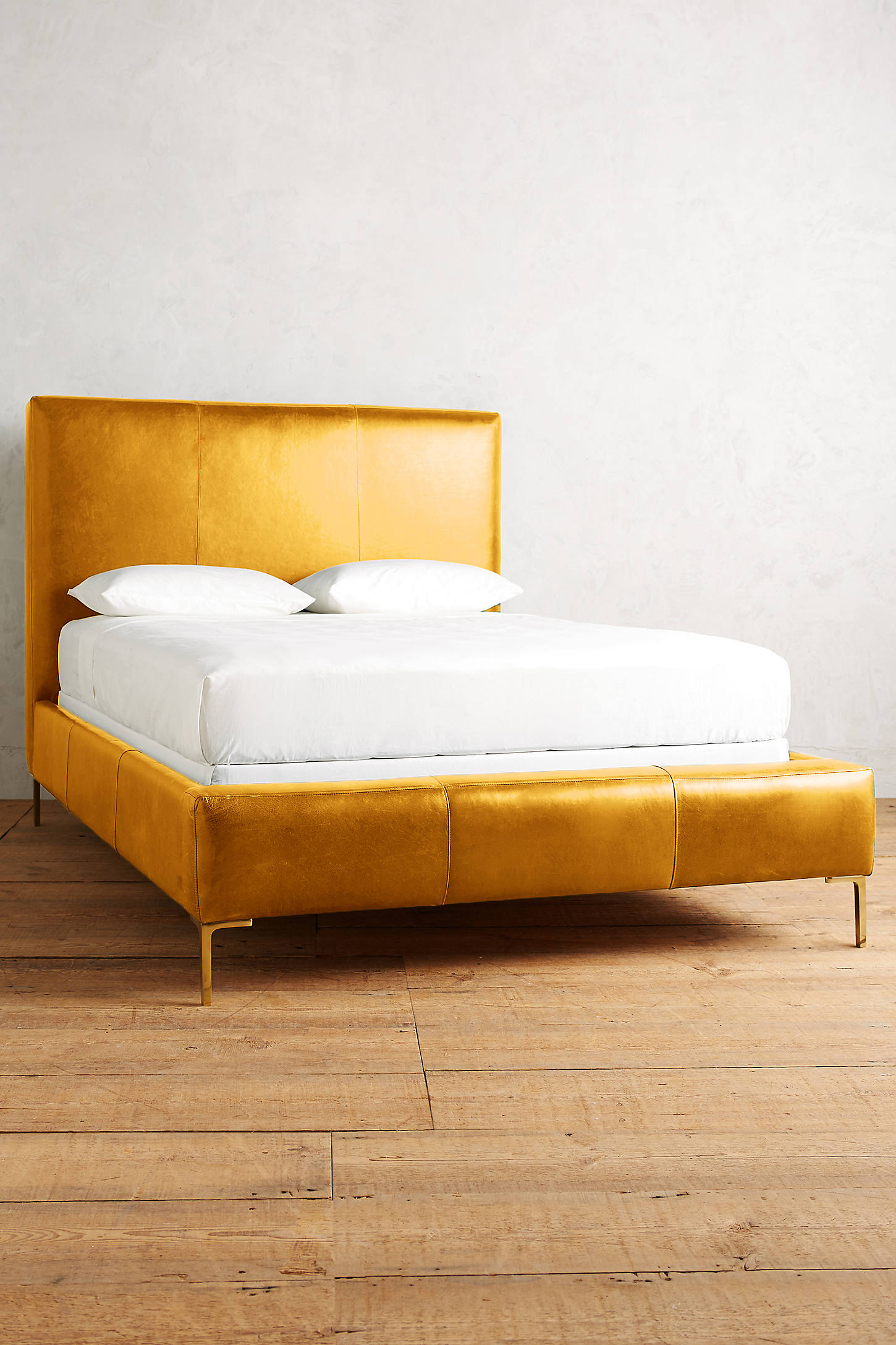 Premium Leather Edlyn Bed