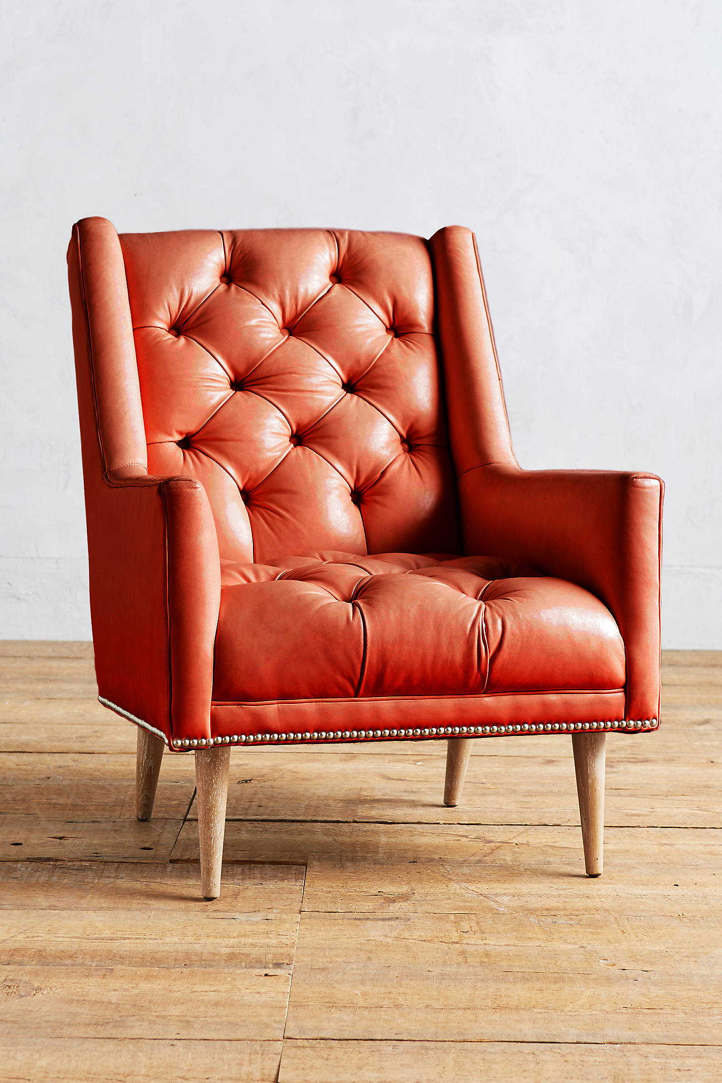 Premium Leather Booker Armchair