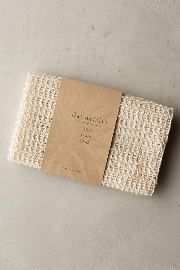 Slide View: 1: Baudelaire Sisal Wash Cloth