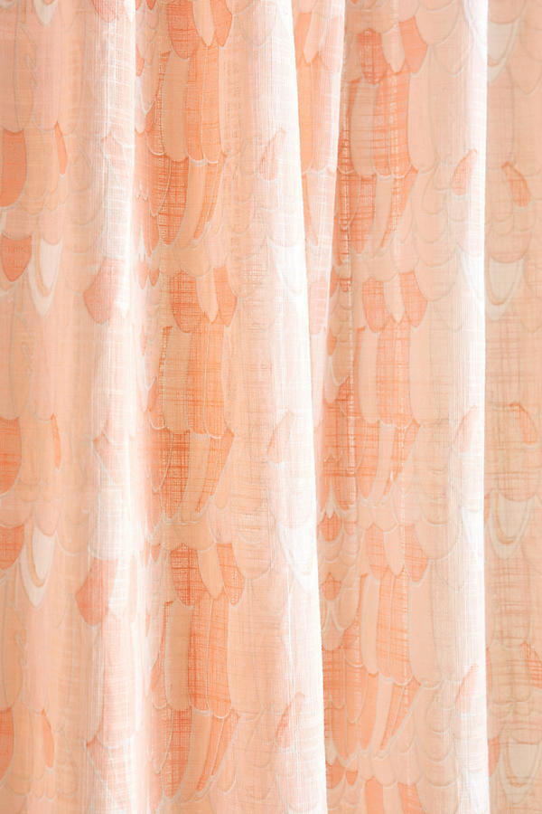 Slide View: 2: Paradise Found Feathered Curtain