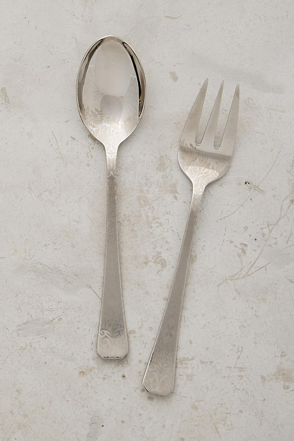 Slide View: 1: Dandelion Greens Serving Set