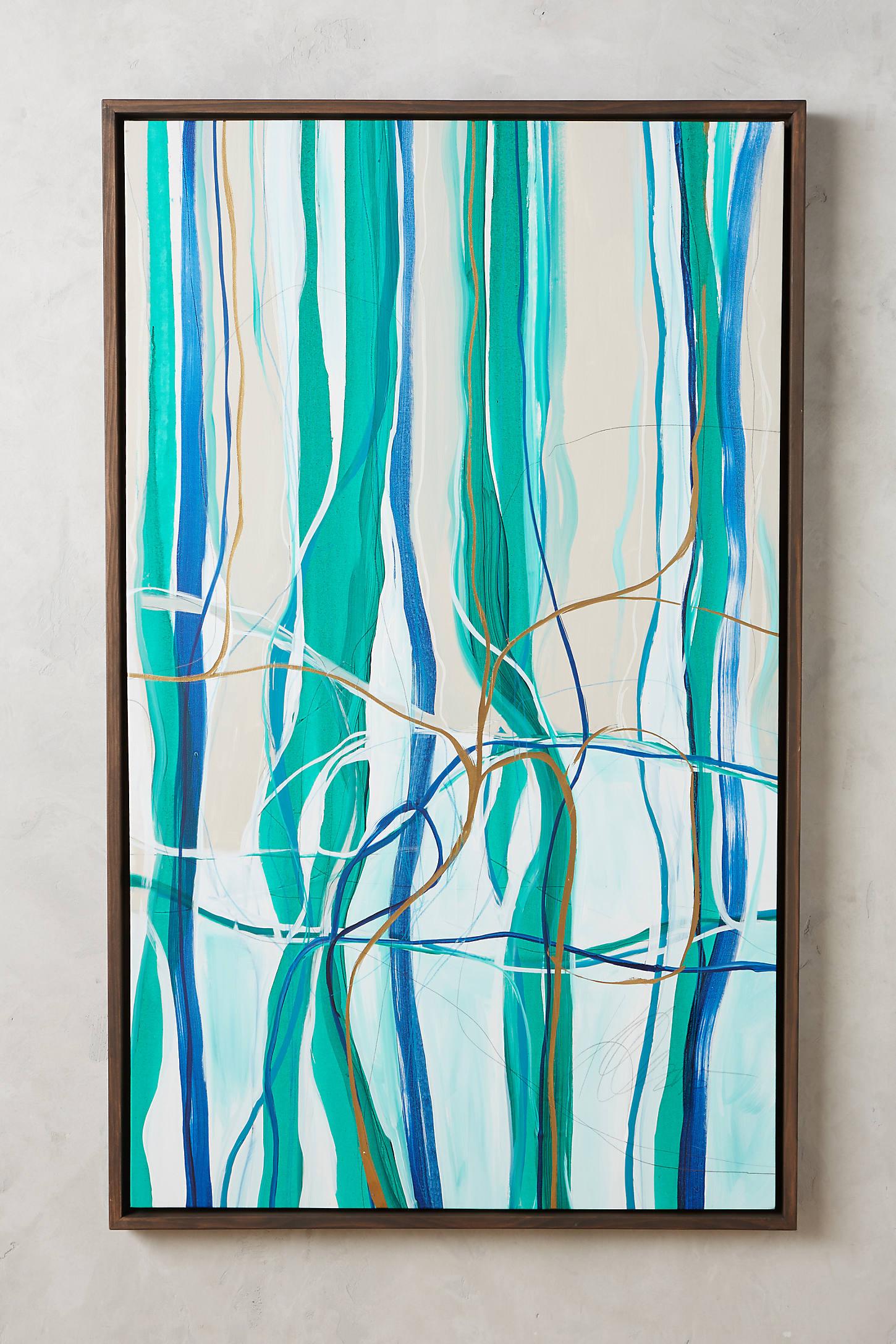 Landscape Ribbons Wall Art