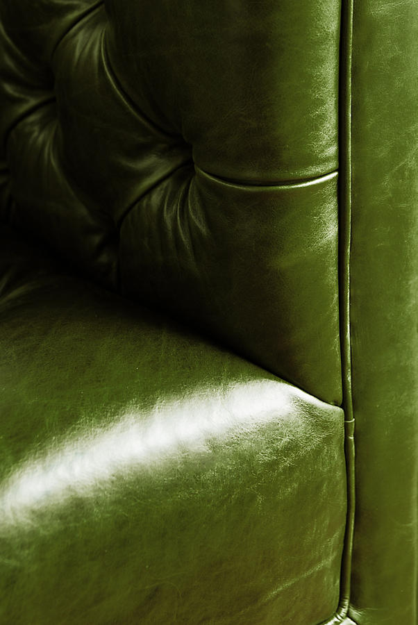 Slide View: 4: Premium Leather Mina Chair
