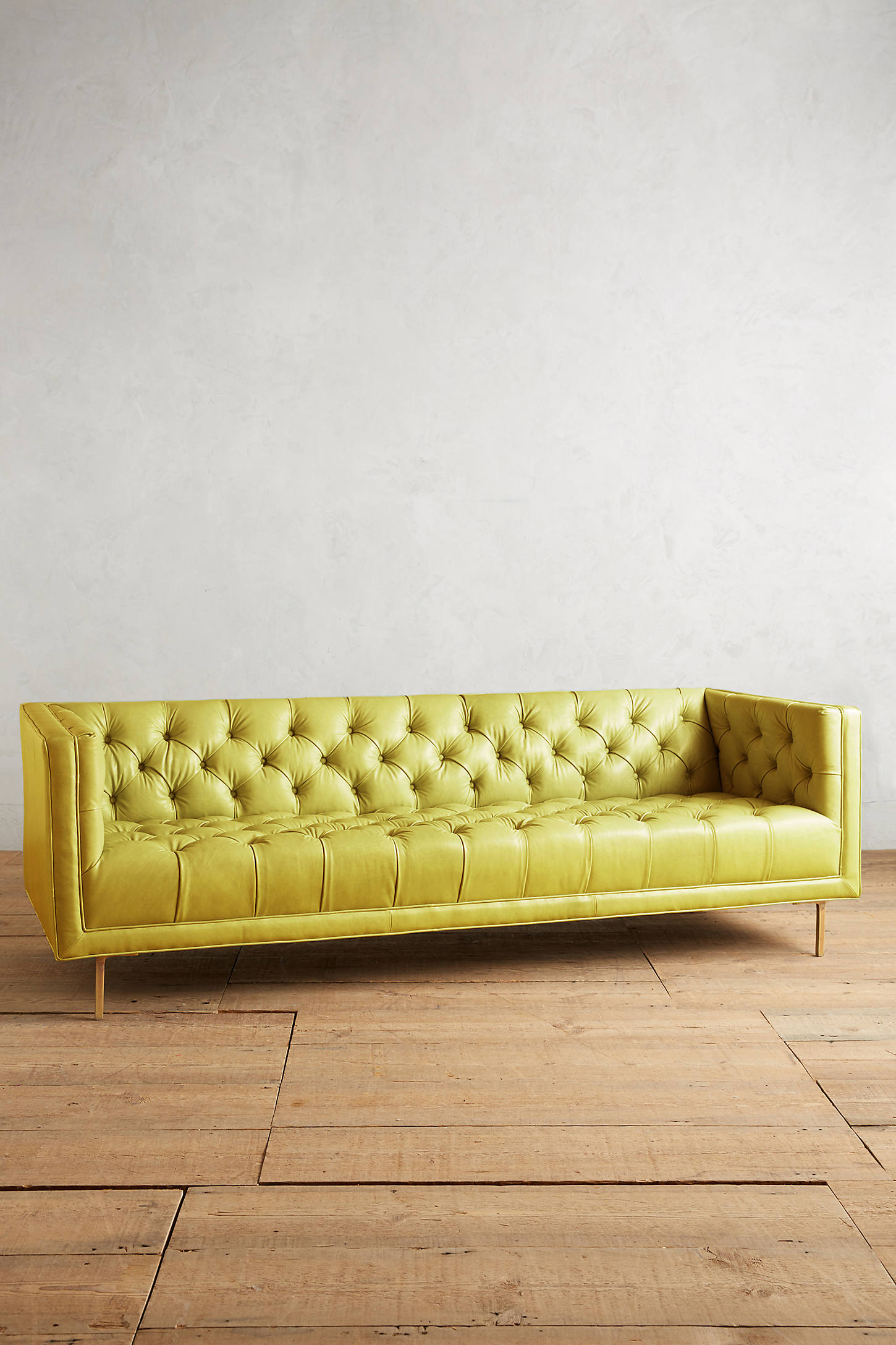 Premium Leather Mina Sofa