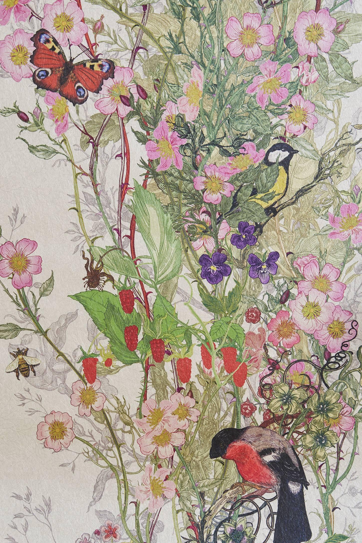 Bird Sanctuary Wallpaper Anthropologie