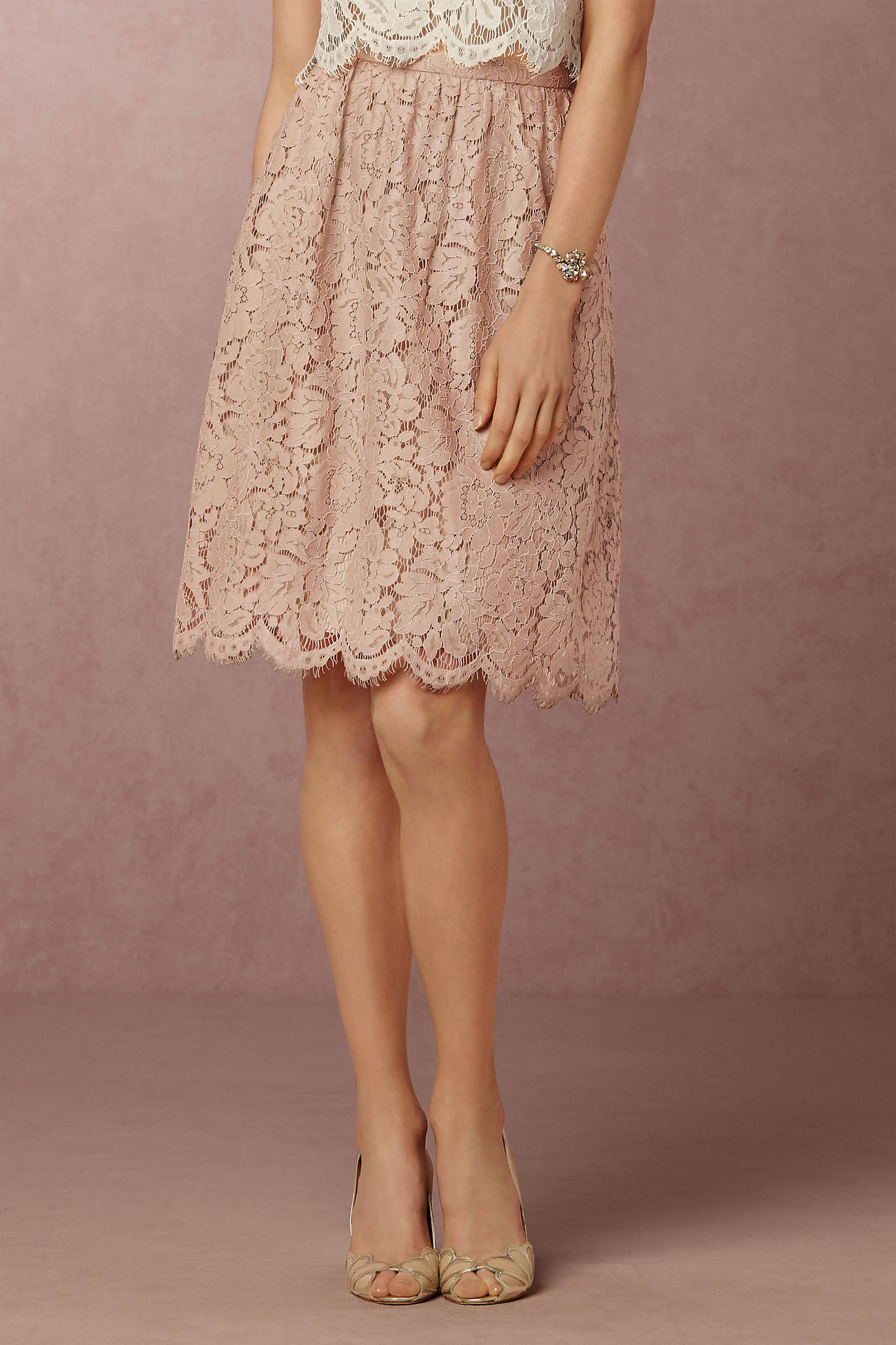 Lydia Lace Skirt