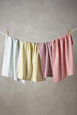 Slide View: 1: Baker Stripe Dish Towel Set