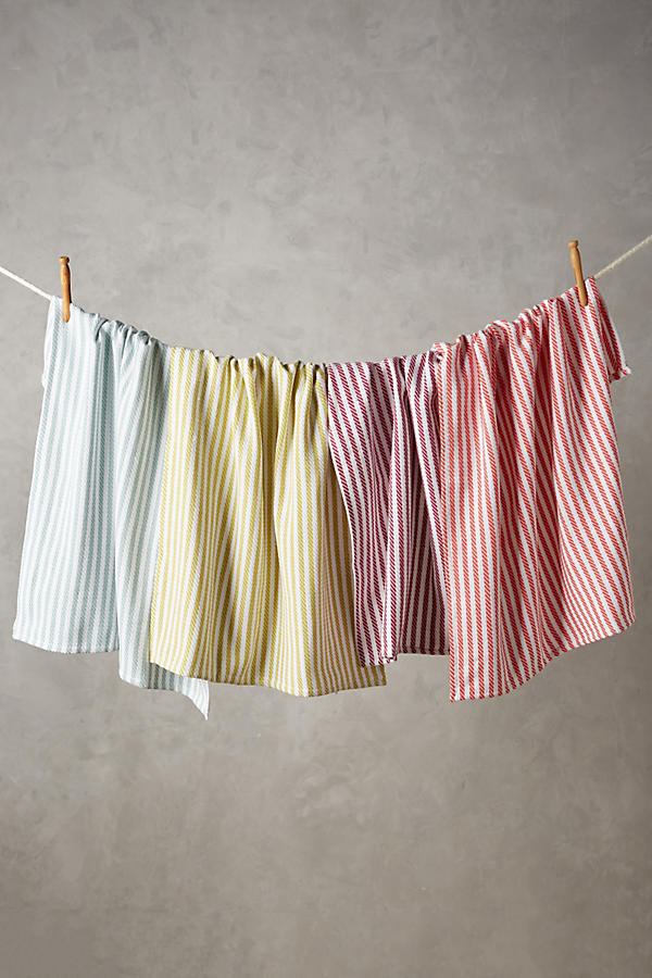 Slide View: 1: Baker Stripe Dishtowel Set