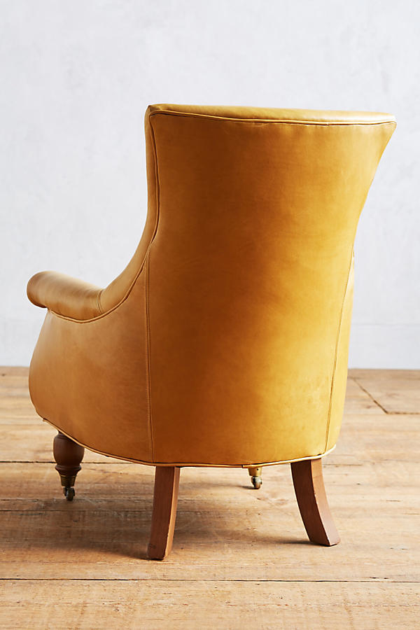 Slide View: 2: Premium Leather Astrid Chair