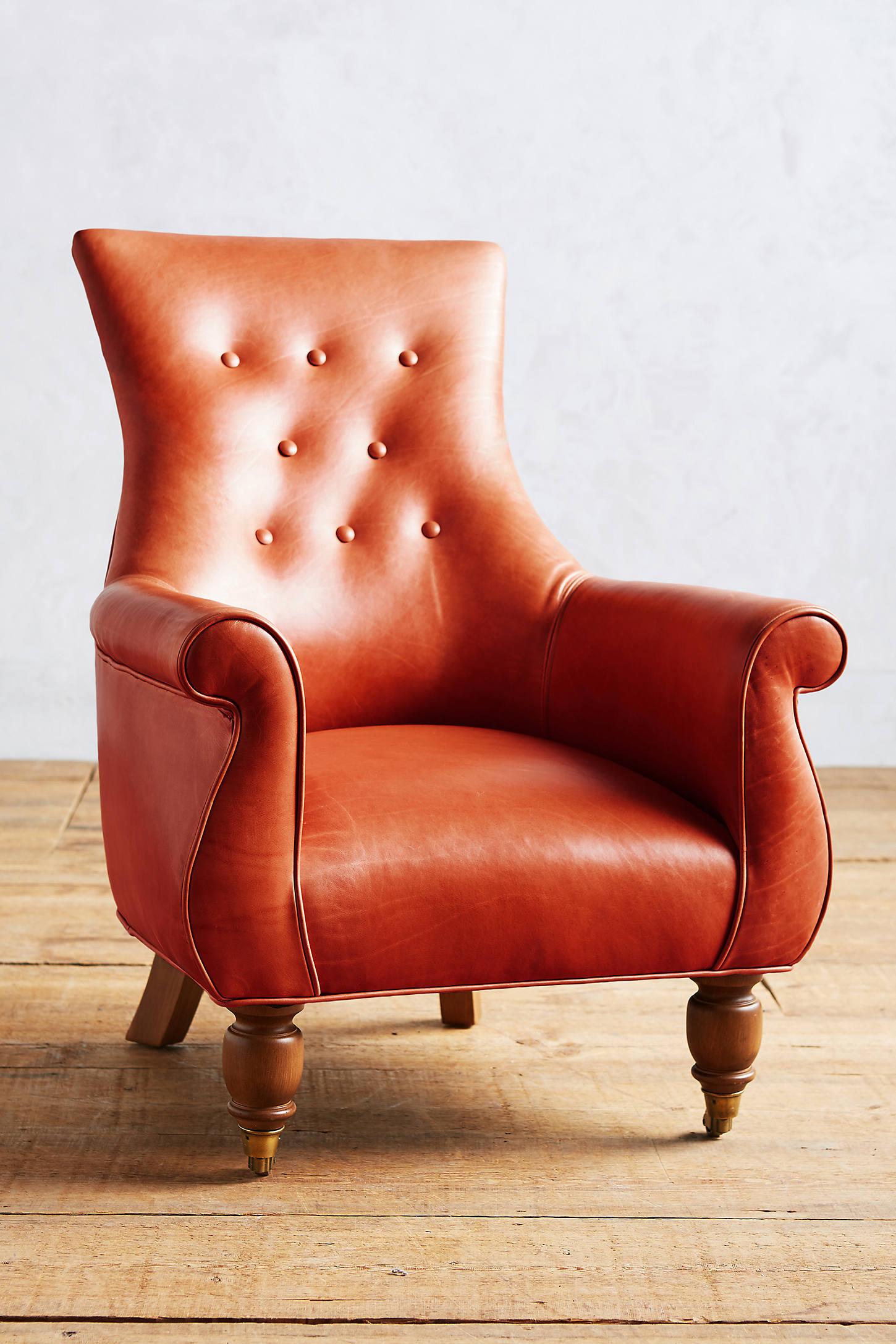 Premium Leather Astrid Chair
