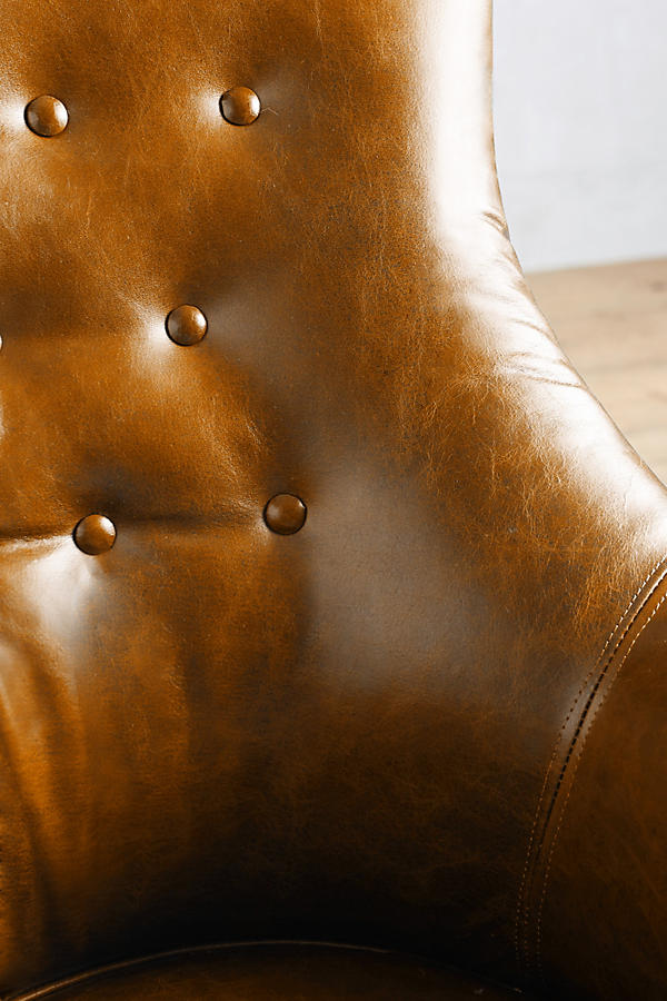 Slide View: 3: Leather Astrid Chair