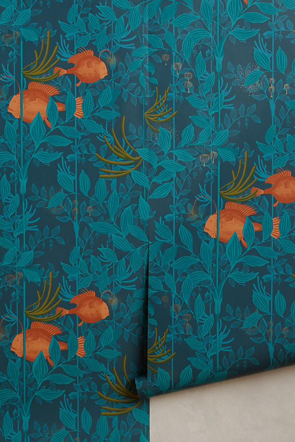 Ocean Reverie Wallpaper - Blue