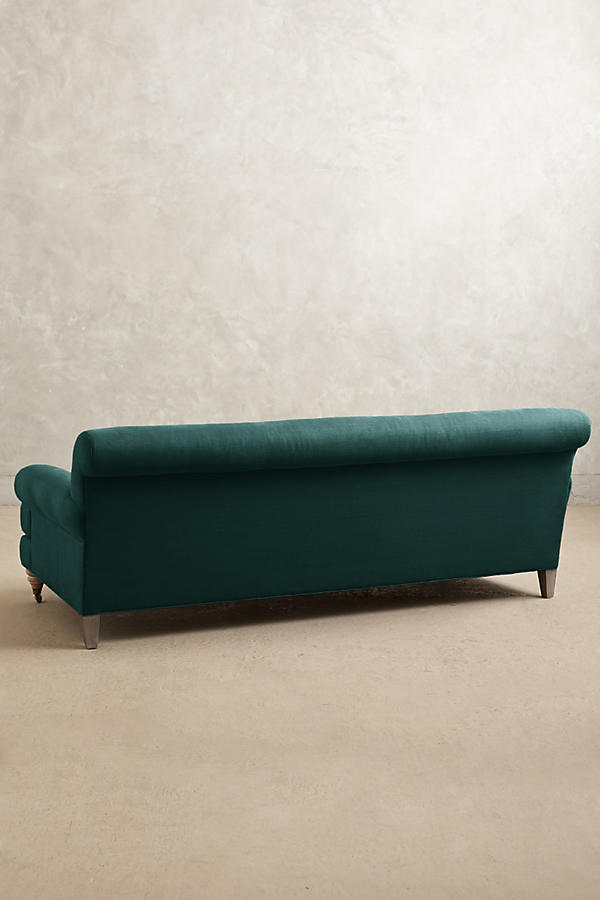 Slide View: 2: Belgian Linen Willoughby Sofa, Wilcox