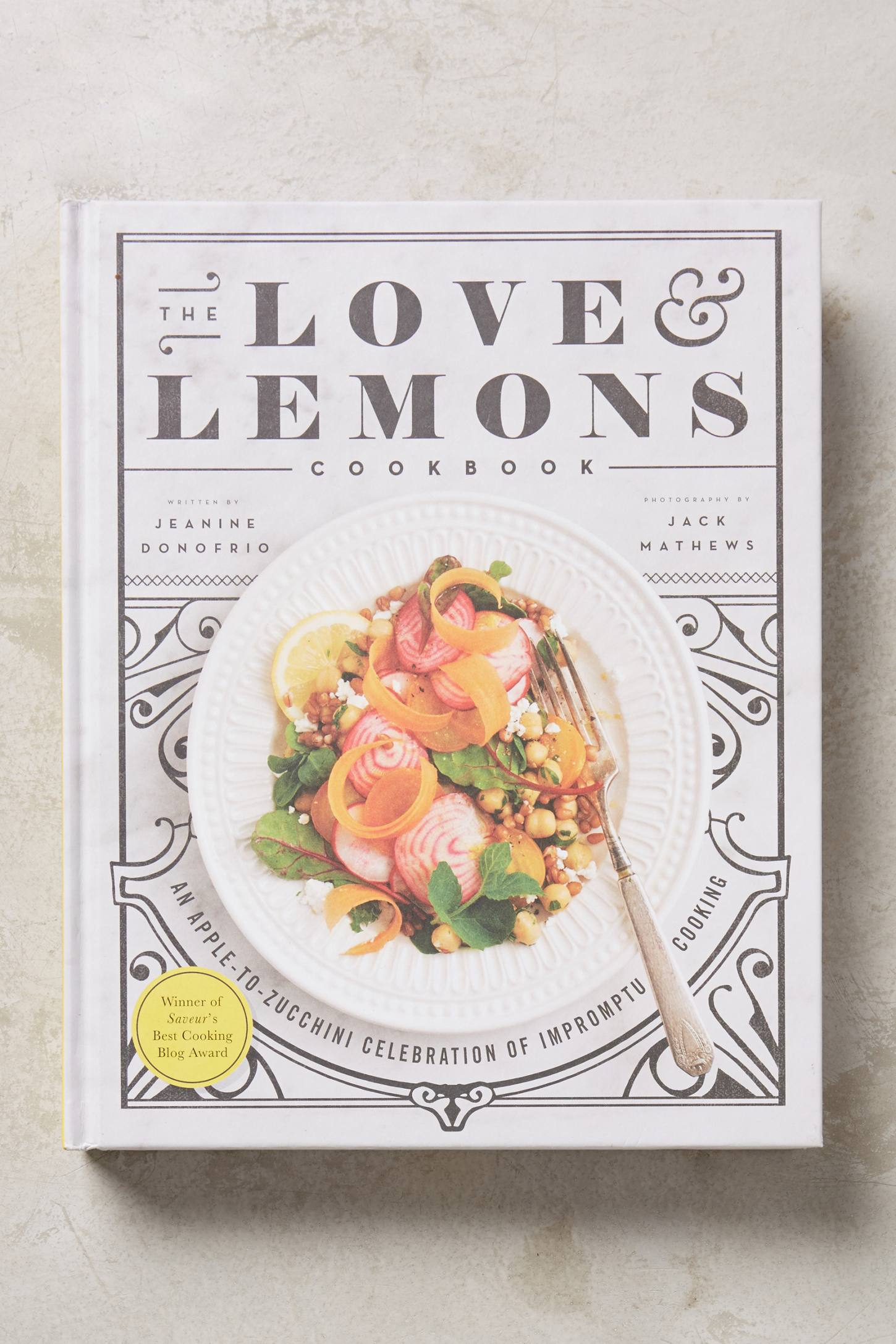 Slide View: 1: The Love And Lemons Cookbook