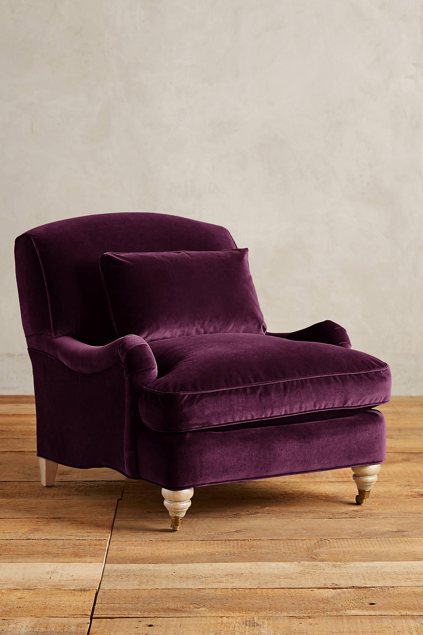 Velvet Glenlee Chair, Wilcox