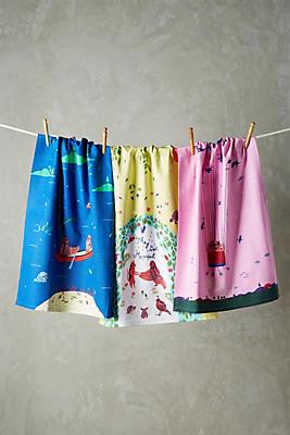 Slide View: 1: Fairytale Tea Towel Set