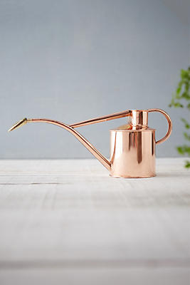 Slide View: 1: Haws Solid Copper Watering Can