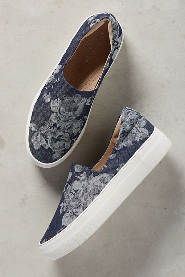 4f3ab0d99d30e Ariana Denim Sneakers | Anthropologie