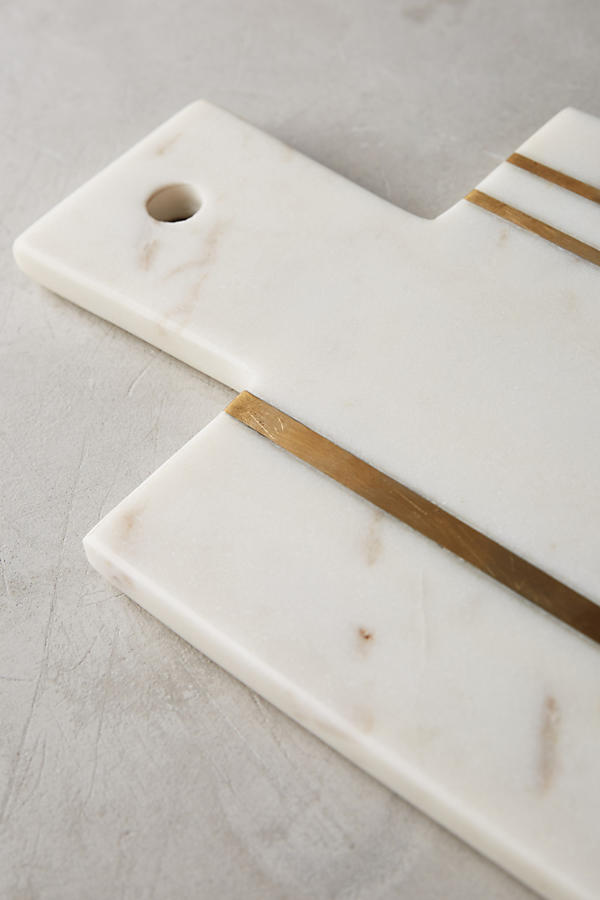 Brass Inlay Cheese Board Anthropologie
