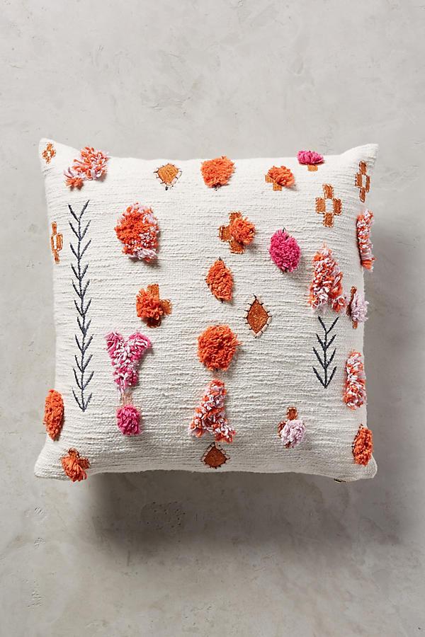 heradia pillow anthropologie. Black Bedroom Furniture Sets. Home Design Ideas