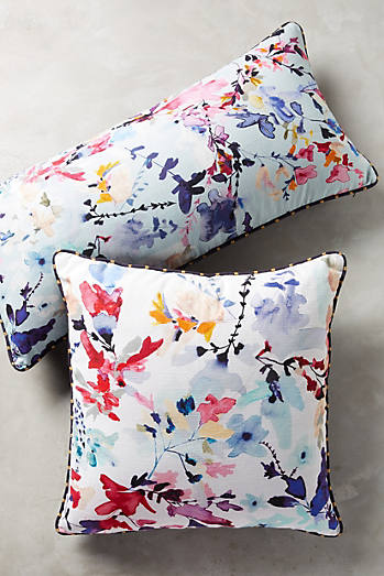 Wildflower Study Pillow