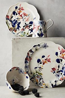 Wildflower Study Dinner Plate