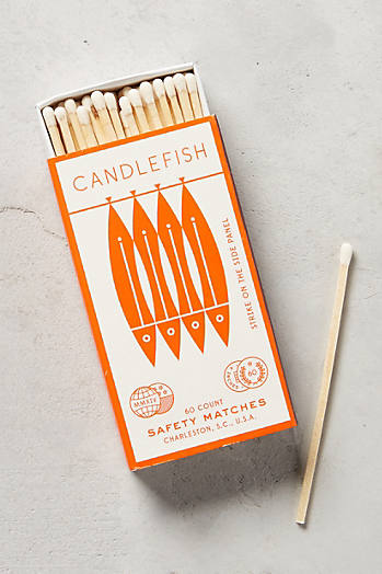 Slide View: 1: Candlefish Matches