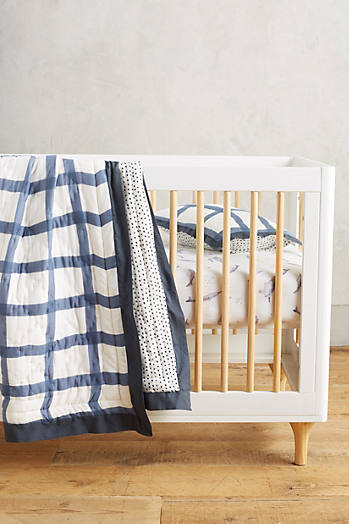 Slide View: 3: Cotton Muslin Crib Sheet