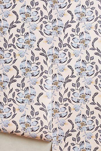 4cc1dea8ac4 Anthropologie Magnolia Blossoms Wallpaper