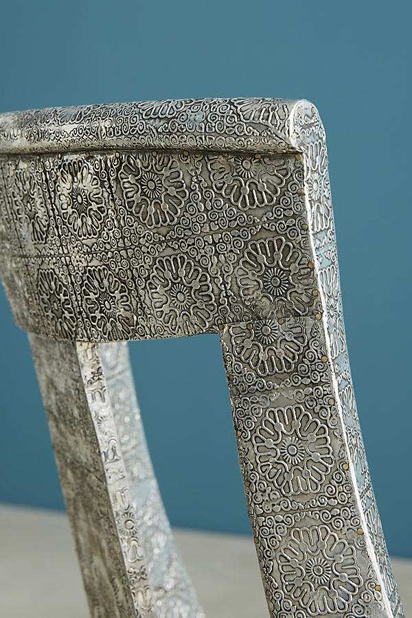 Slide View: 7: Hand-Embossed Dining Chair