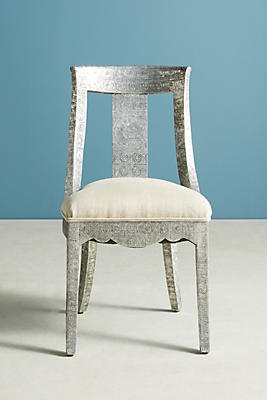 Hand-Embossed Dining Chair