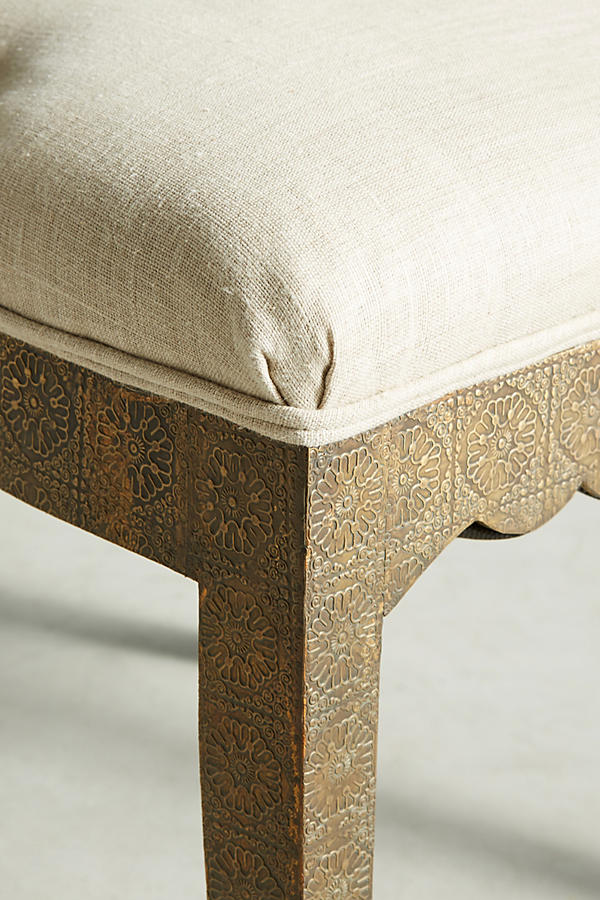 Slide View: 6: Hand-Embossed Dining Chair
