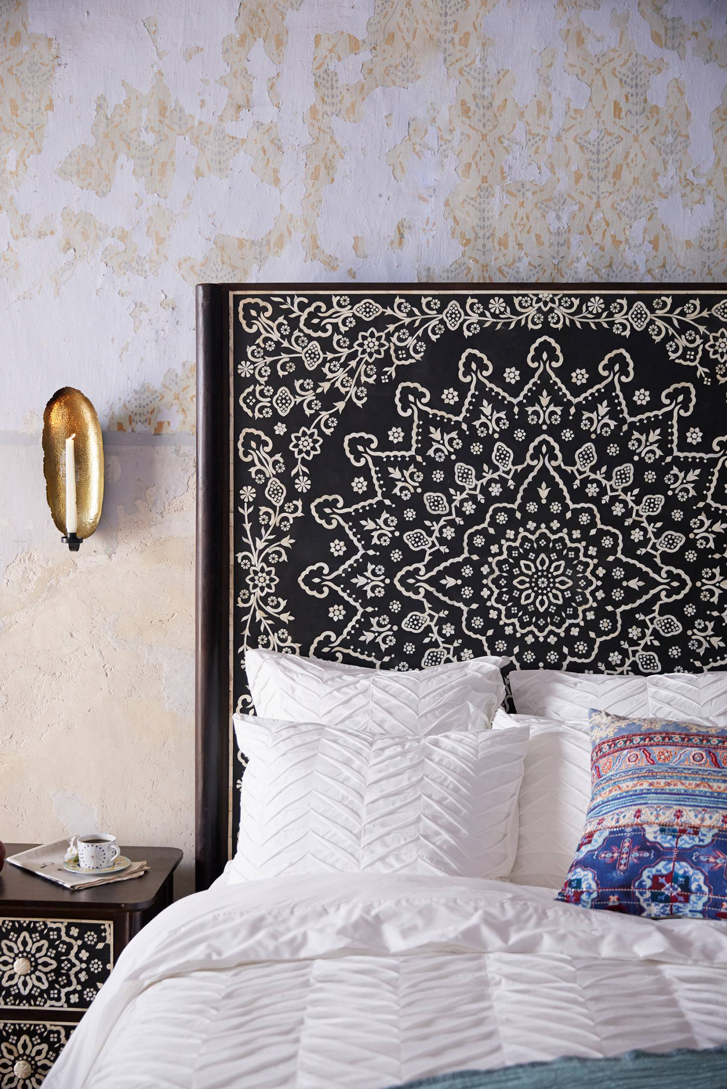Tapestry Inlay Bed Anthropologie