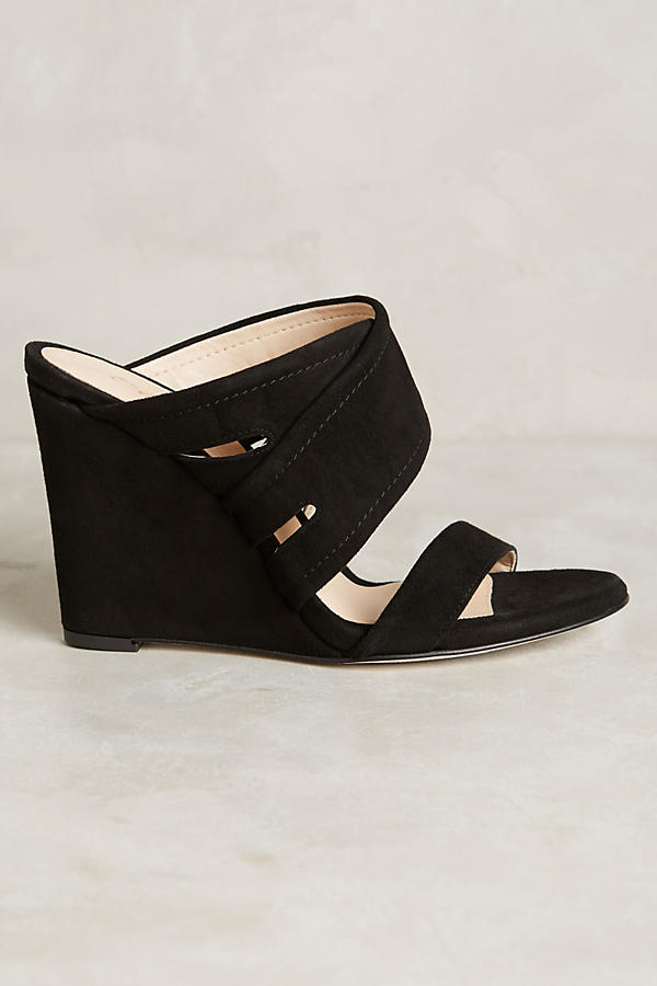 Slide View: 2: Miss Albright Escuro Wedges