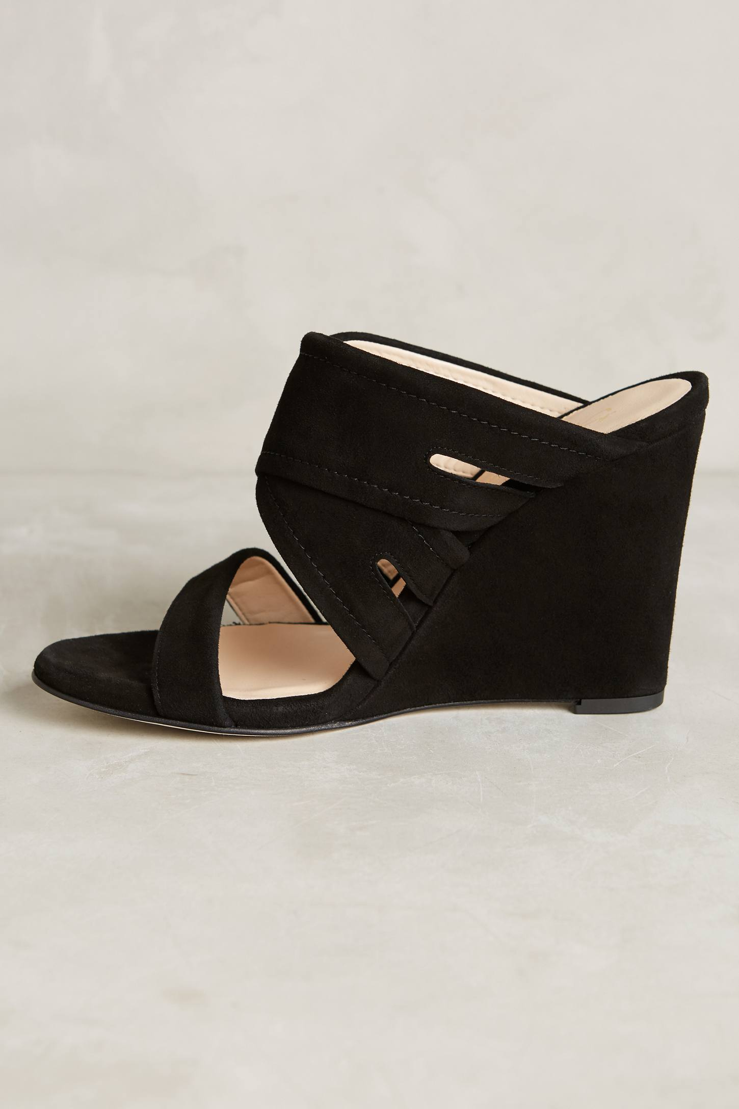 Slide View: 3: Miss Albright Escuro Wedges