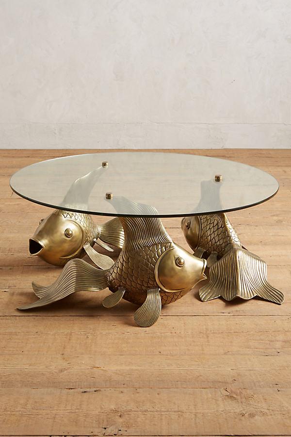 Koi Coffee Table - Bronze