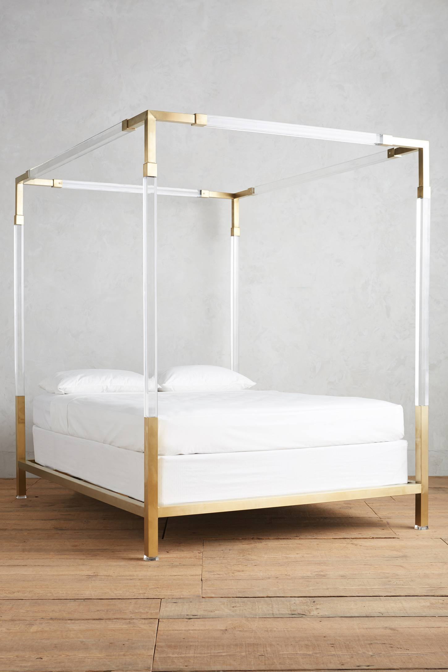 French Dining Room Set Oscarine Lucite Four Poster Bed Anthropologie