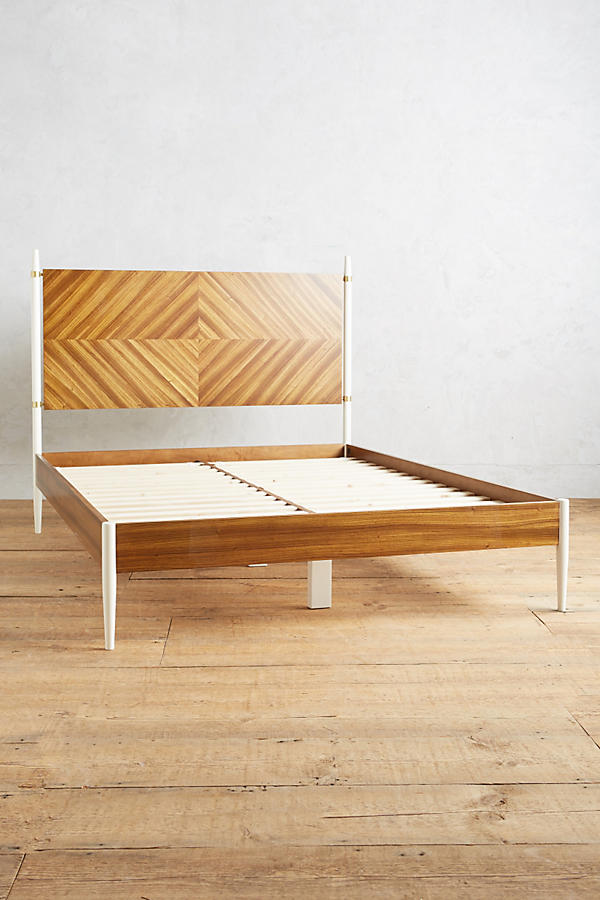 Slide View: 3: Geo-Marquetry Bed