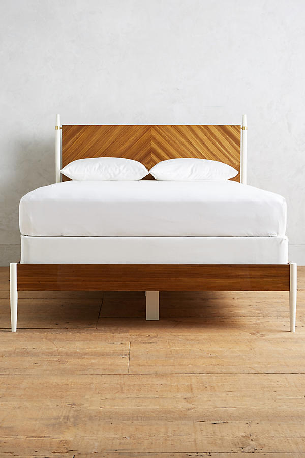 Slide View: 4: Geo-Marquetry Bed