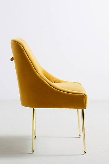 Slide View: 3: Velvet Elowen Chair