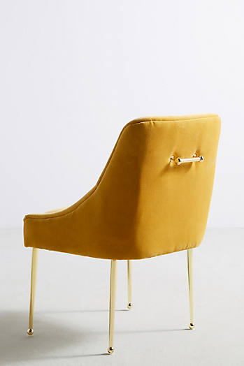 Slide View: 5: Velvet Elowen Chair