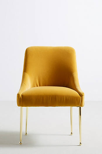 Slide View: 1: Velvet Elowen Chair