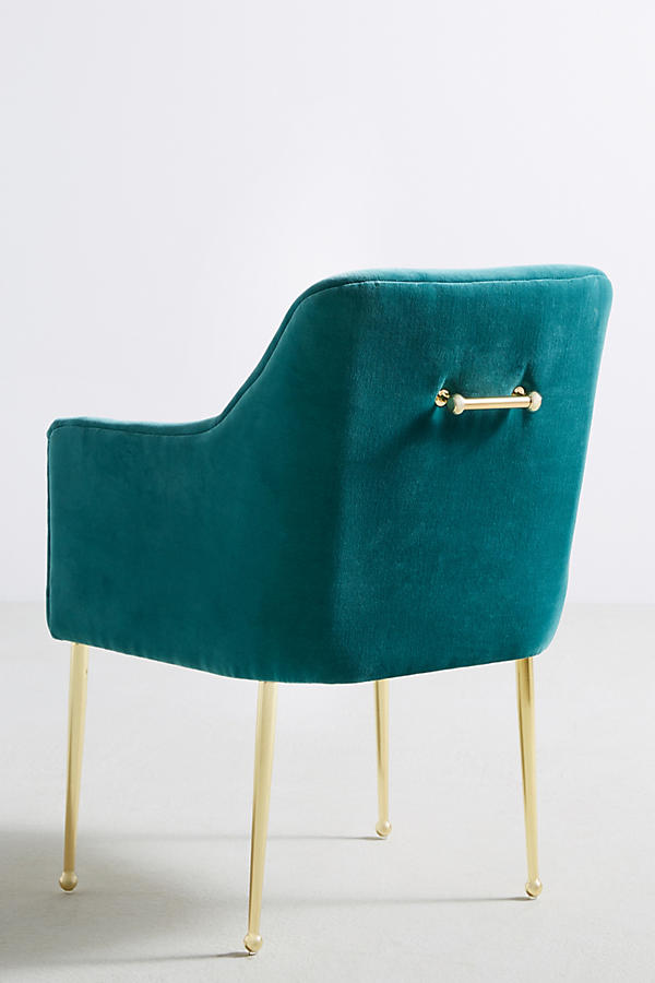 Slide View: 5: Velvet Elowen Armchair