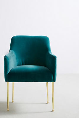 Velvet Elowen Armchair Anthropologie