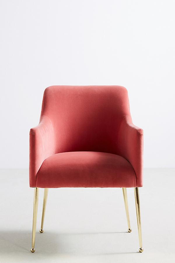 Elowen Armchair - Medium Pink