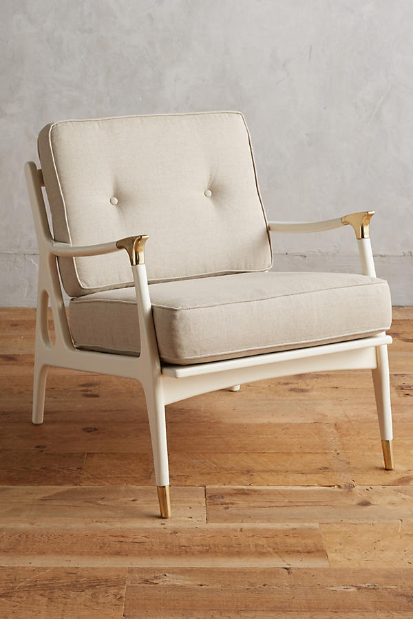 Slide View: 1: Lacquered Haverhill Occasional Chair